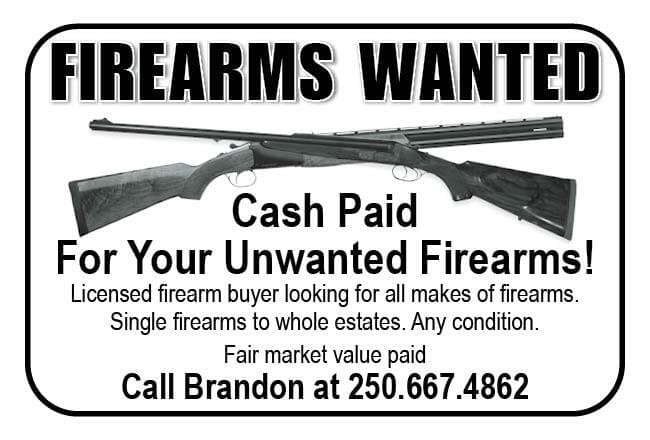 FIREARMS WANTED