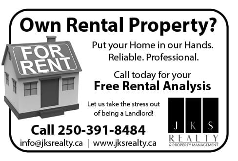 JKS Property Management Ad in Coffee News
