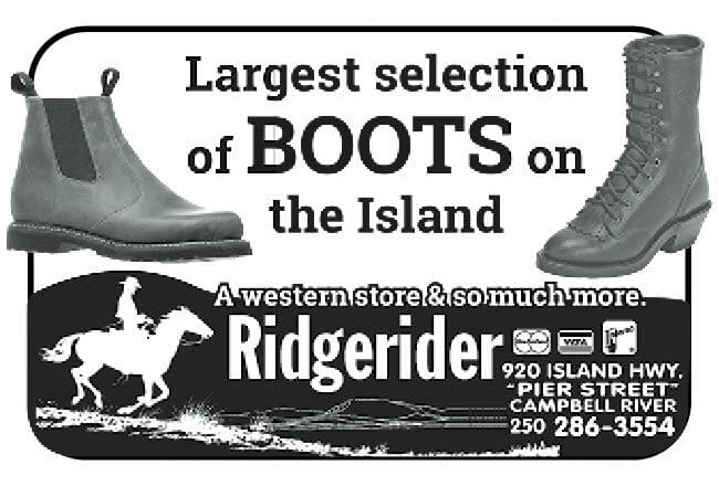 Ridge Rider Ad in Coffee News
