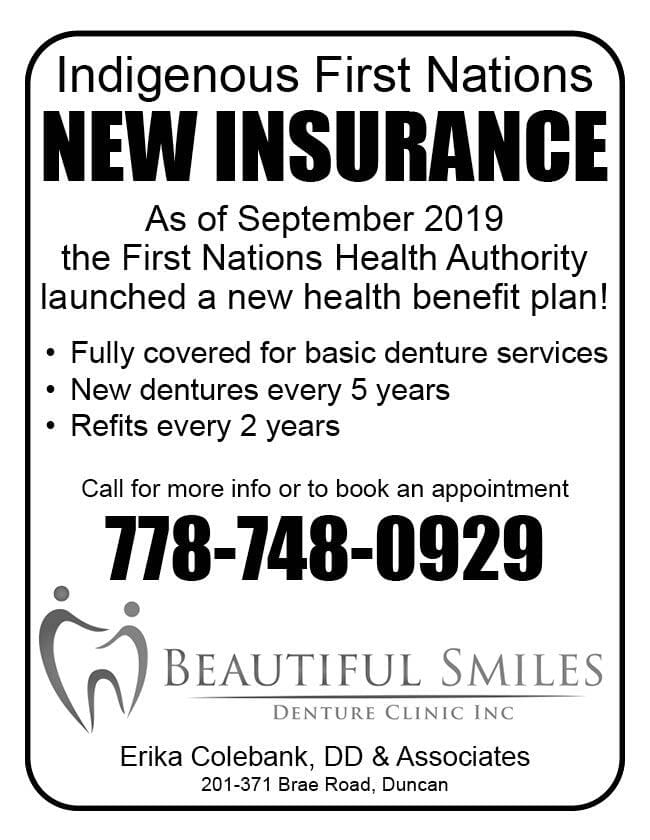 Beautiful Smiles Ad in Coffee News