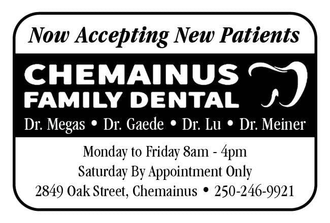 Chemainus Dental Ad in Coffee News