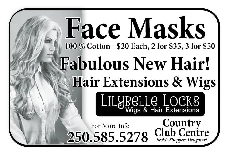 LilyBelle Locks Ad in Coffee News