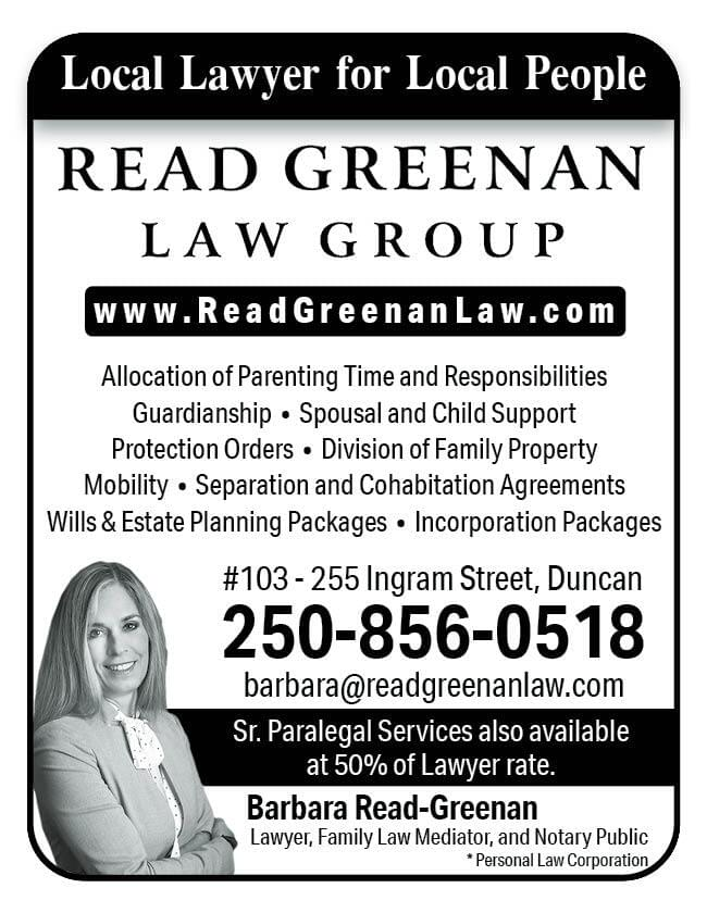 Read Law Ad in Coffee News