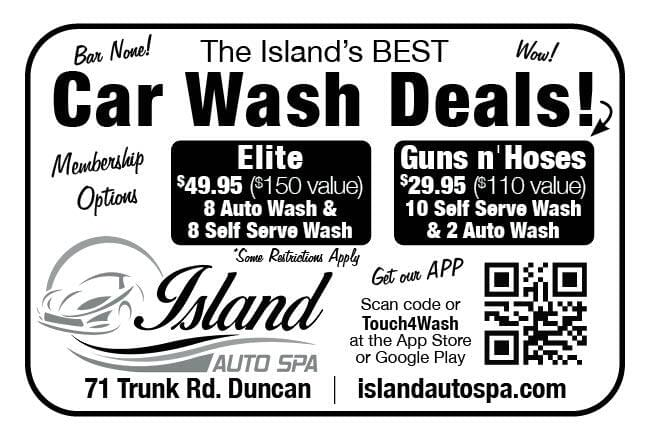 Island Auto Spa Ad in Coffee News