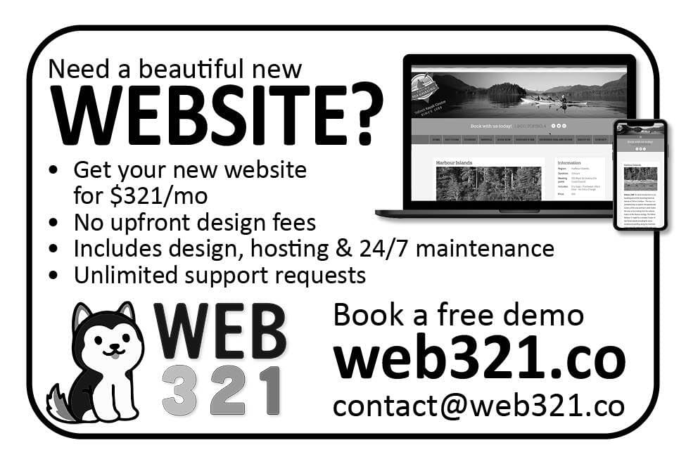 Web321 Ad in Coffee News