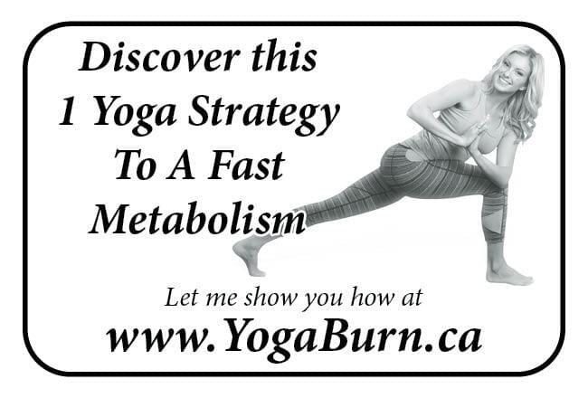 Yoga Burn Ad in Coffee News
