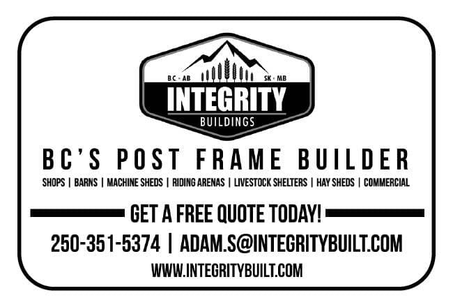Integrity Buildings Ad in Coffee News