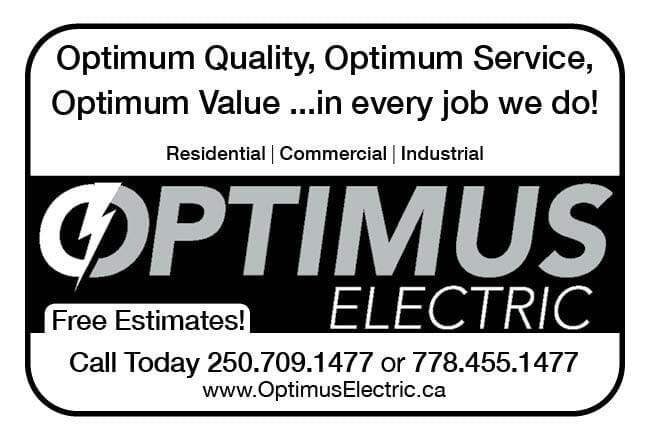 Optimus Electric Ad in Coffee News