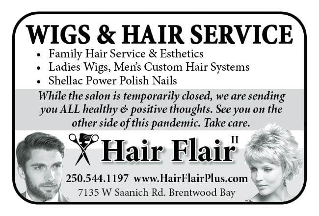 Hair Flair Ad in Coffee News