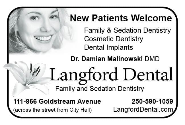 Langford Dental Ad in Coffee News