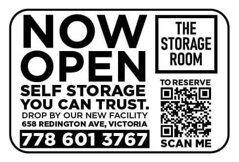 The Storage Room Ad in Coffee News