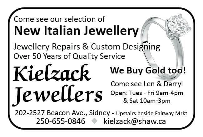 Kielzack Jewellers Ad in Coffee News