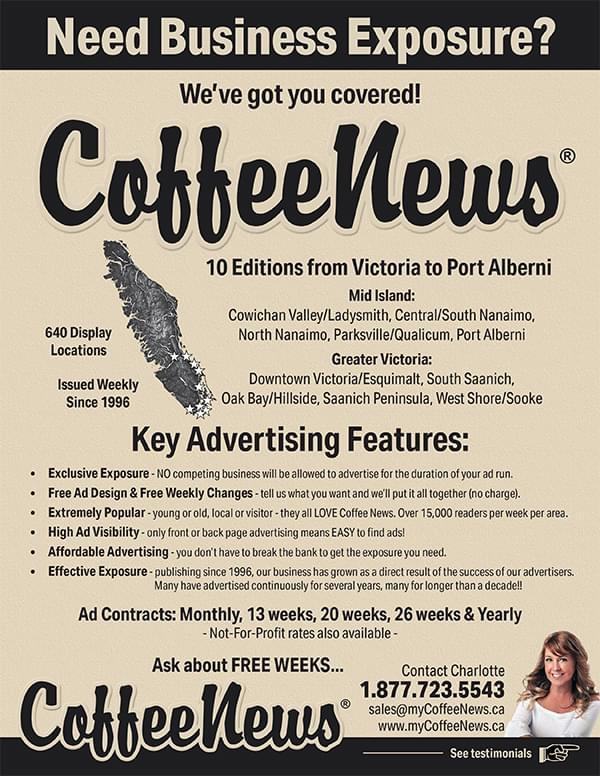 Coffee News Advertising
