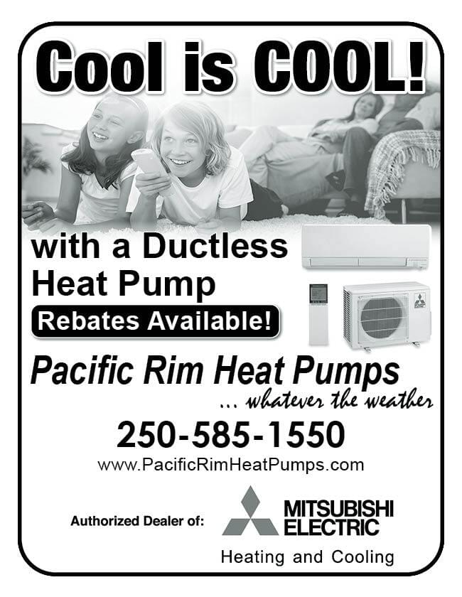 Pacific Rim Heat Pumps Ad in Coffee News