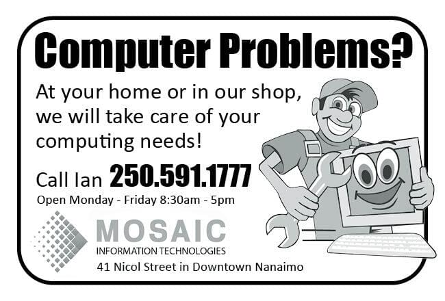 Mosaic Information Technologies Ad in Coffee News