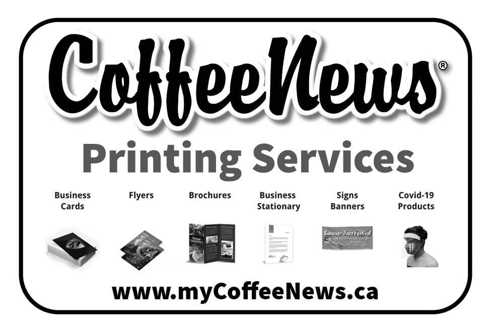Coffee News Printing ad in Coffee News