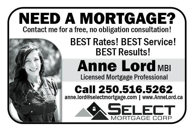 Anne Lord Mortgage Professional Ad in Coffee News