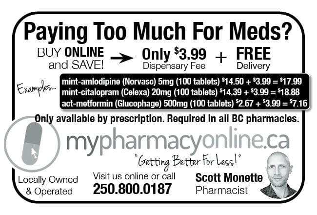 My PharmacyOnline Ad in Coffee News