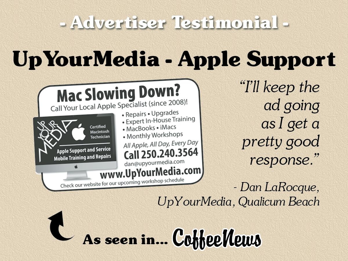 Coffee News - Mid/South Vancouver Island BC