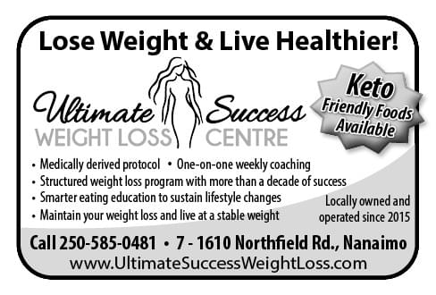 Ulitimate Success Weight Loss Centre Ad in Coffee News