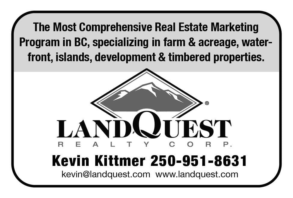 LandQuest Ad in Coffee News