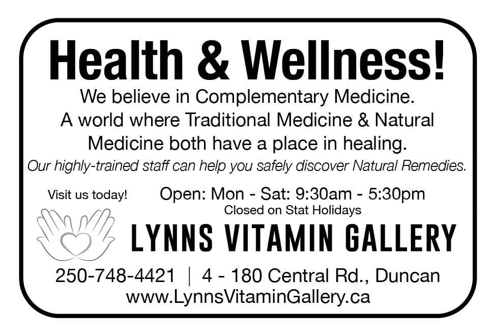 Lynns Vitamin Gallery Ad in Coffee News